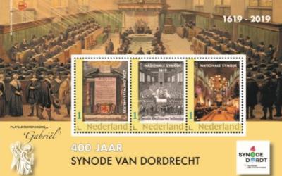 Vanaf 4 februari Synode Postzegels te koop